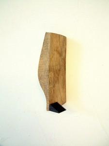 ARCHITECTURE-I---1993-wood,-iron.-20-x-8-x-11-cm