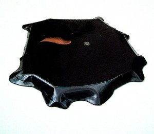 BLACK POOL 1994 Resina de poliester collage 82 x 58 x 1 cm