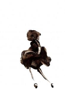 BLACK-SWINGS-IX,-2009-Acrylic-on-paper-21-x-29,5-cm