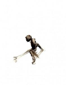 BLACK-SWINGS-VI,-2009-Acrylic-on-paper-21-x-29,5-cm