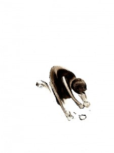 BLACK-SWINGS-VIII,-2009-Acrylic-on-paper-21-x-29,5-cm