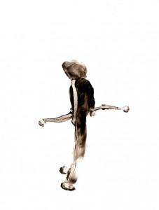 BLACK-SWINGS-XIII,-2009-Acrylic-on-paper-21-x-29,5-cm