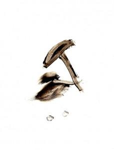 BLACK-SWINGS-XVI,-2009-Acrylic-on-paper-21-x-29,5-cm