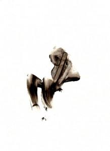 BLACK-SWINGS-XXII,-2009-Acrylic-on-paper-21-x-29,5-cm
