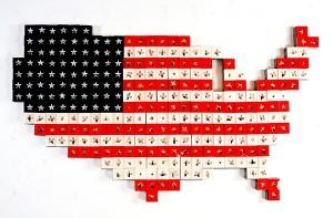 EEUU 2011 Resina de poliéster collage acero 170 x 100 x 75 cm