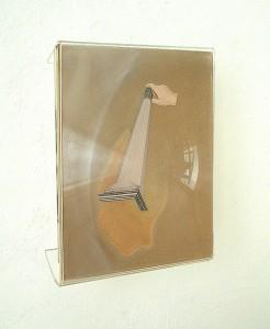 METHACRYLATE XIX 1995 Plastico leche collage 21 x 29 x 6 cm