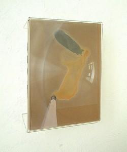 METHACRYLATE XVII 1995 Plastico leche collage 21 x 29 x 6 cm