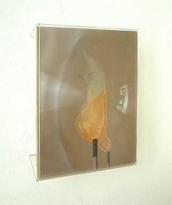 METHACRYLATE XVIII 1995 Plastico leche collage 21 x 29 x 6 cm