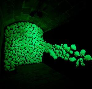 NOCTILUCOS 2006 2007 Resina de poliester fotoluminiscente Medidas variables