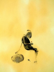 SIT-X,-2010-Acrylic-and-varnish-on-paper-21-x-29,5-cm