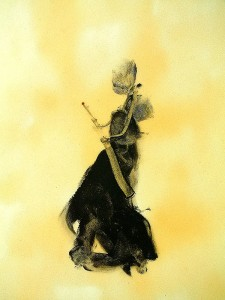 WAIT-VI,-2010-Acrylic-and-varnish-on-paper-21-x-29,5-cm