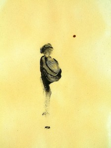 WAIT-VII,-2010-Acrylic-and-varnish-on-paper-21-x-29,5-cm