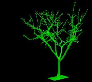 COBERTURA-DE-ANIMAS-(luz-apagada)-2010-Resina-de-poliester-fotoluminiscente-Medidas-variables