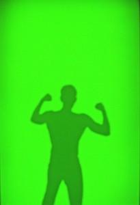 GLUP-DE-SOMBRAS-(luz-apagada)-2010-Resina-fotoluminiscente-sobre-madera-230-x-120-x-5-cm-(2)