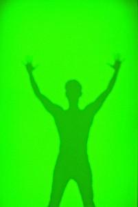 GLUP-DE-SOMBRAS-(luz-apagada)-2010-Resina-fotoluminiscente-sobre-madera-230-x-120-x-5-cm